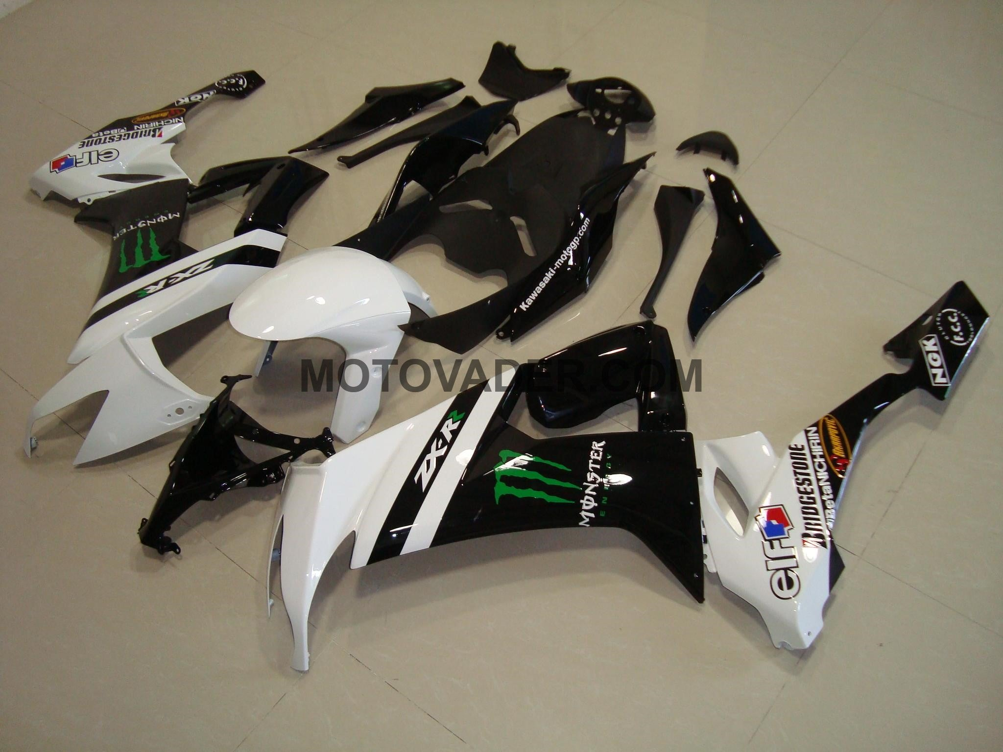 Kawasaki ZX-10R 2008-2010 Monster 2 Fairing