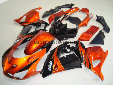 Kawasaki ZX-14R 2006-2007 Orange & Black Fairing