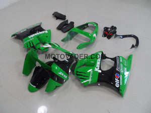 Kawasaki ZX-6R 2000-2002 Green Monster 3 Fairing