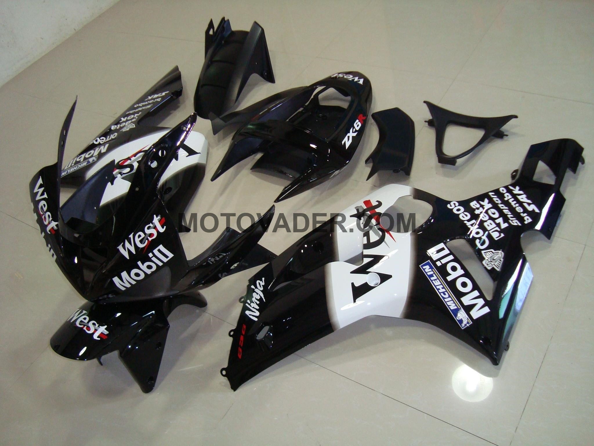 Kawasaki ZX-6R 2003-2004 West 3 Fairing