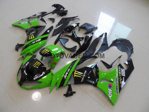 Kawasaki ZX-6R 2009-2012 Green Monster Fairing