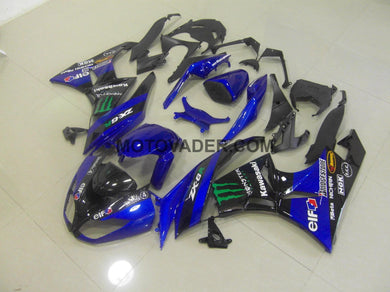 Kawasaki ZX-6R 2009-2012 Blue Monster Fairing