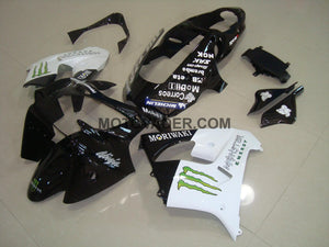 Kawasaki ZX-9R 2000-2001 Black & White Monster Fairing