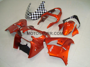 Kawasaki ZX-9R 2000-2001 Orange Fairing