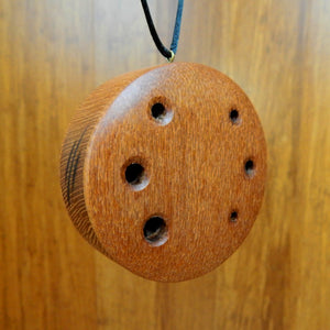 World Winds:Lace wood Ocarina Flute, Warm Projecting Tone