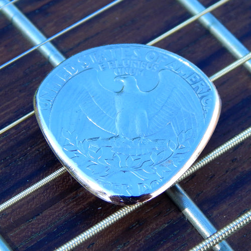 World Winds:Metal Guitar Pick - You Pick The Year - Guitar, Bass, Mandolin, Ukulele
