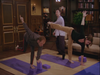 Who remembers Niles Crane trying Yoga on Frasier?
