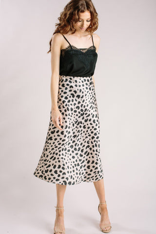 Normani Leopard On 'Em Midi Skirt