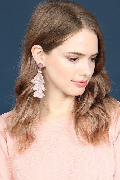 Want To Have Fun Tassel Earrings