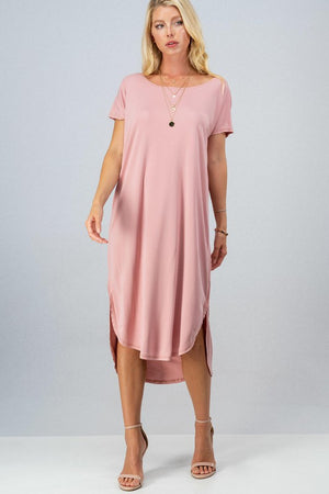 Look For Comfort Midi Dress