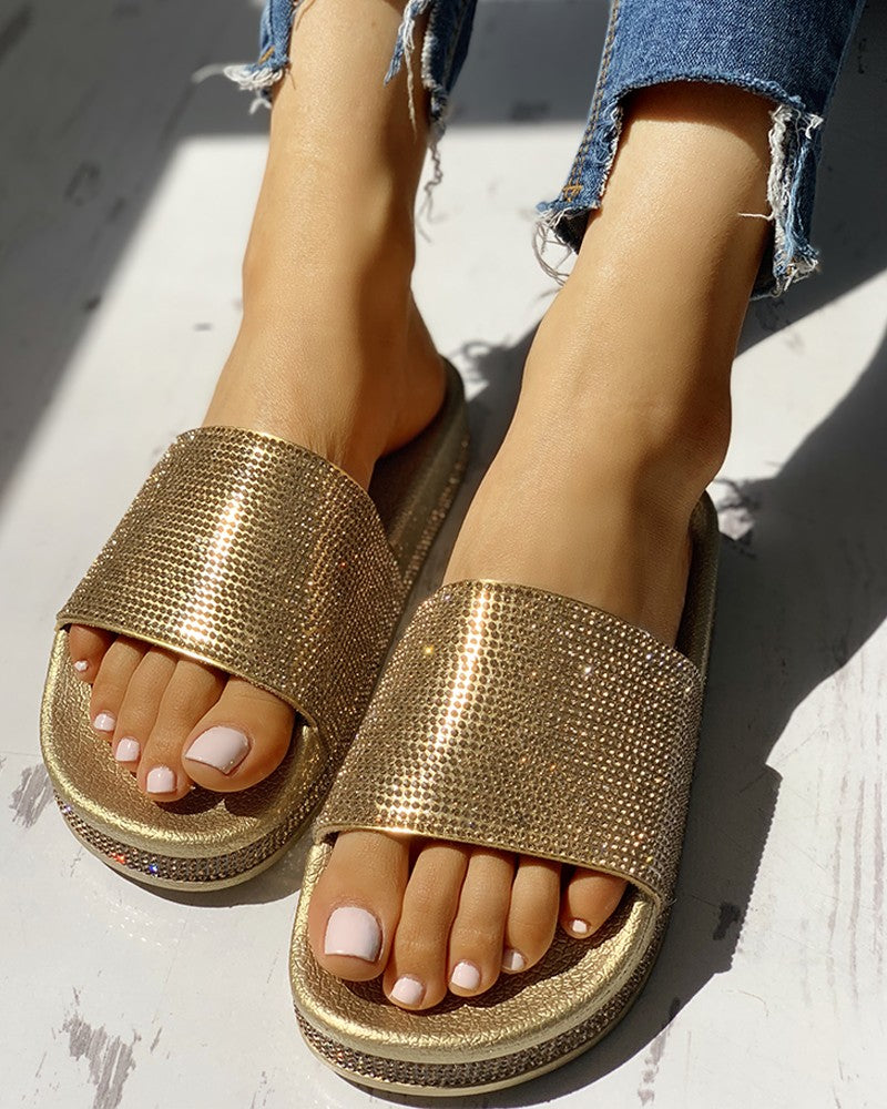 Must Adventure Gold/Silver Sandals - PreOrder Limited Quantities
