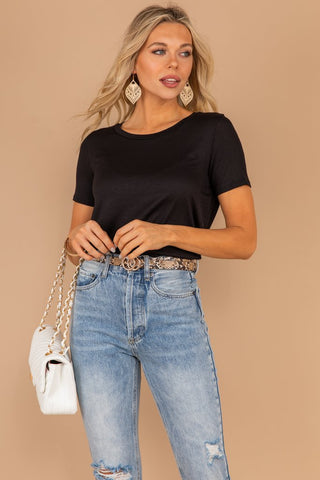 Keep It Current Basic Tee/Top
