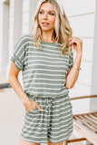 A Friend Like You Striped Romper