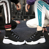 TOP TRAINER SOCK SNEAKERS - RishWish
