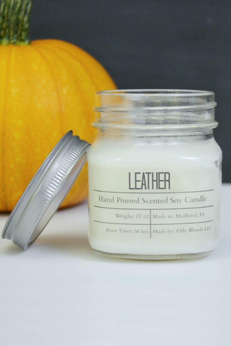 JUMBO Fall Scented Soy Wax Candles