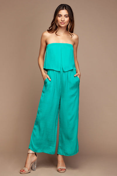 Layered Cropped Jumpsuit - RishWish