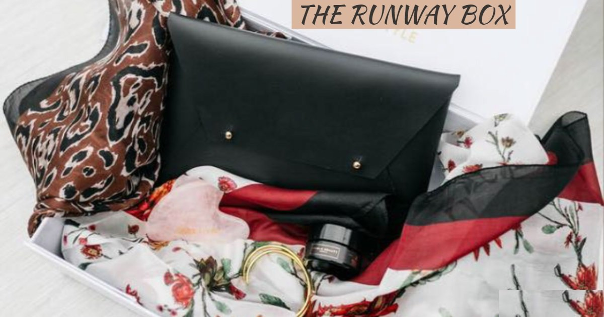 RUNWAY BOX SUBSCRIPTION - PAY AS YOU GO ! CANCEL ANYTIME - RishWish