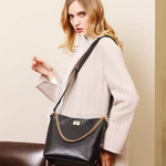 Rylie Leather Handbag  CLASSY  SIMPLE STYLISH