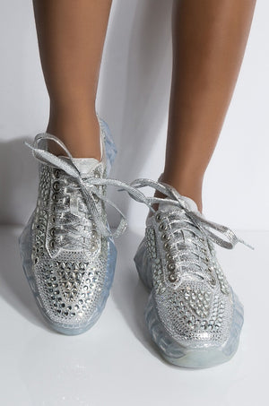 FREAK YOU OUT DIAMOND CARISSA SNEAKERS -LOWEST PRICE ANYWHERE !