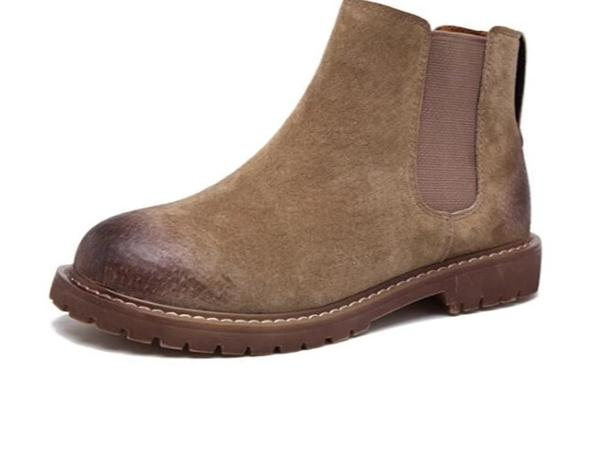 Genuine Leather  Demi Beat Chelsea Boots