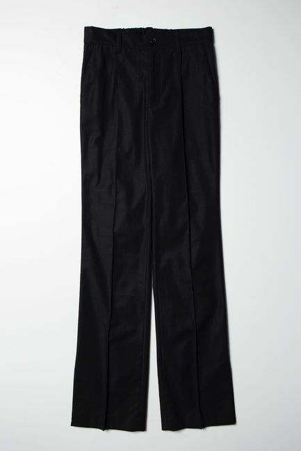【先行予約】Slit Pants black