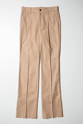 【先行予約】Slit Pants beige