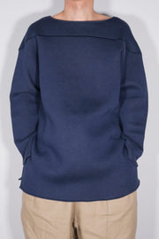 Bonding Crew neck Long Pullover
