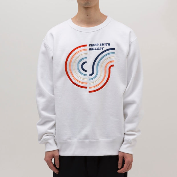 CIDER GALLERY Sweat / WHITE