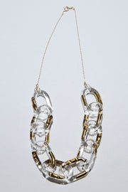 Surge decollete necklace