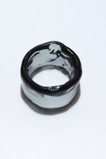 Ripple ring circle black