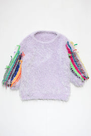 Embroidery knit sweater