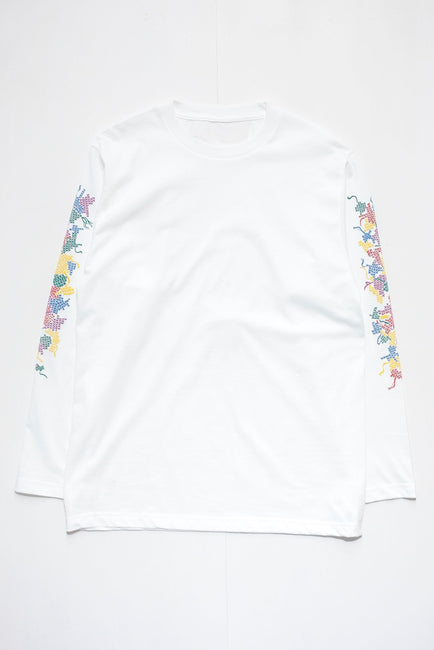 Embroidery Print L/S TEE