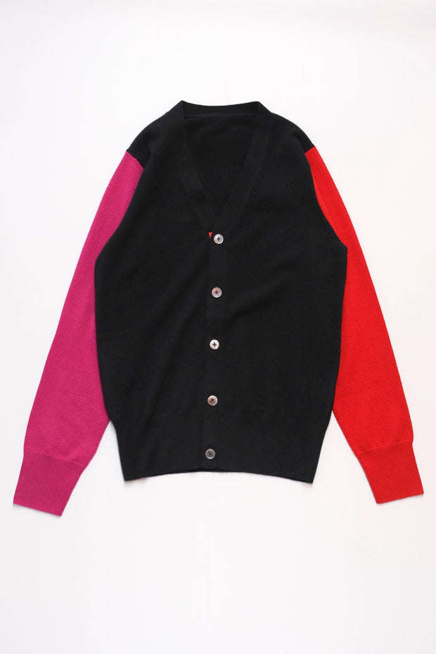 The CC pure cashmere cardigan