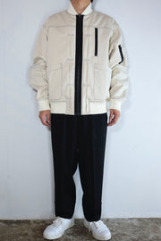 Pleat Flight Jacket