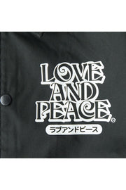 LOVE AND PEACE COACHES JACKET