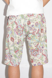 Fleamarket botanical short trousers