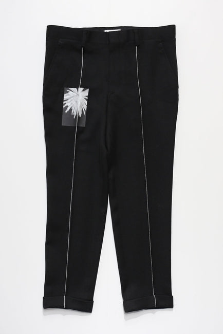Wool Turn up Pants