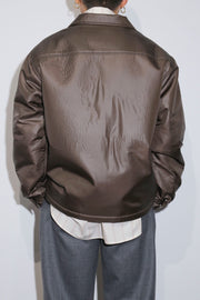 PADDING ELEPELE TAFFETA SHIRT JACKET