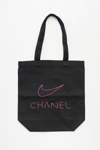 W FAKE TOTE BAG