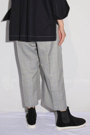 Hakama Check Trousers