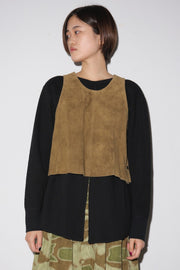 Side Button Vest