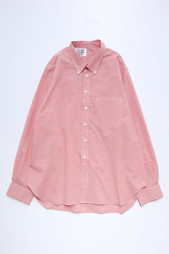 PINCHED BUTTON DOWN SHIRT