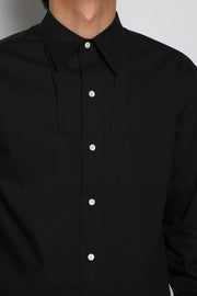 Ribbon shirts_BLACK