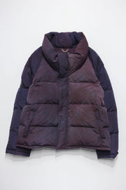 UNEVEN DIEING DOWN JACKET