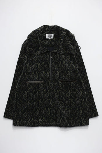 PAISLEY ZIP PULLOVER