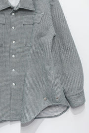 HOUNDS TOOTH PADDING SHACKET