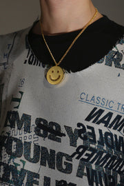 LAUGHING COIN NECKLACE