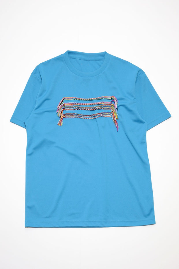 Embroidery T-Shirt  Light Blue2