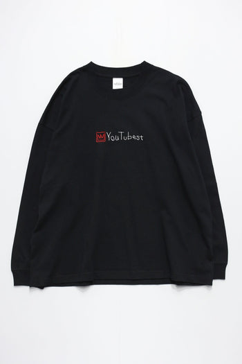 YOU TUBE KING WIDE L/S TEE