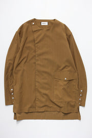 Stripe Shirt Blouson